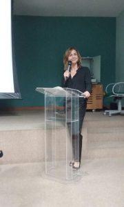Leila Ferraz - palestra na FAESA